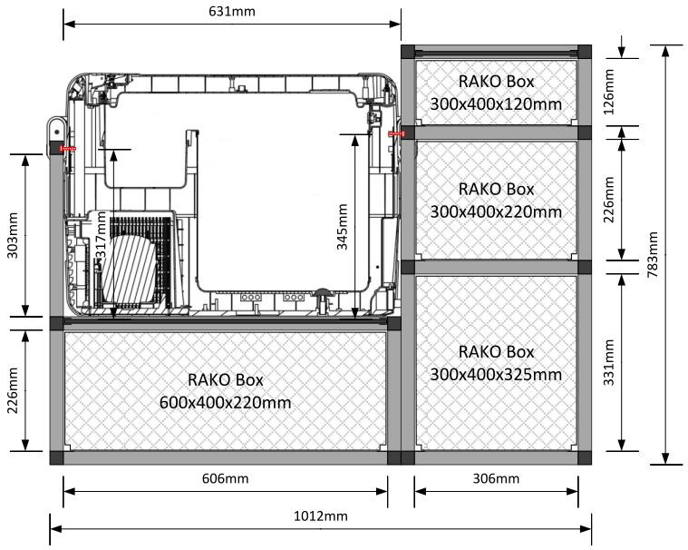 minimal ausbau mit alu steck profile andere ausbauten im t5 und t6 die vw. Black Bedroom Furniture Sets. Home Design Ideas