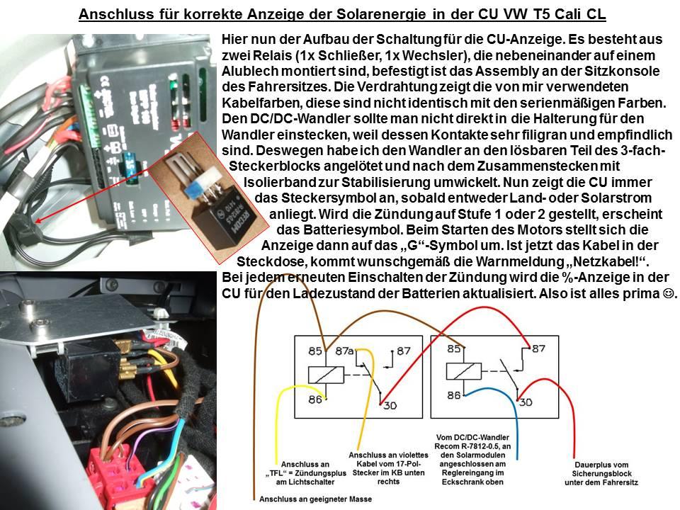 Flexible Solarmodule auf dem Cali-AD à la mopedjunkie - Seite 3 - VW ...