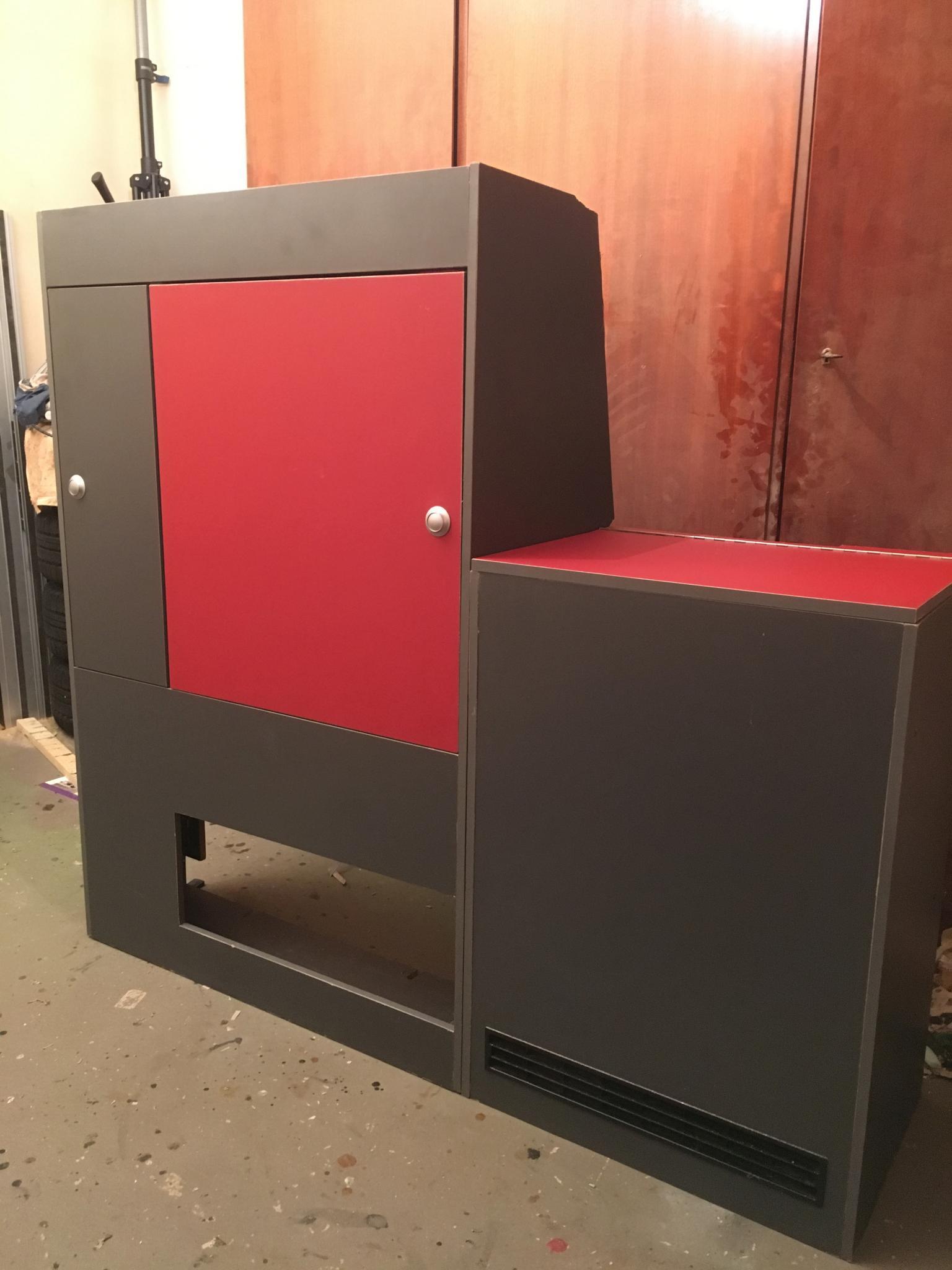 schrankzeile mit kühlbox im t5.2 beach - selbstgemachtes - caliboard