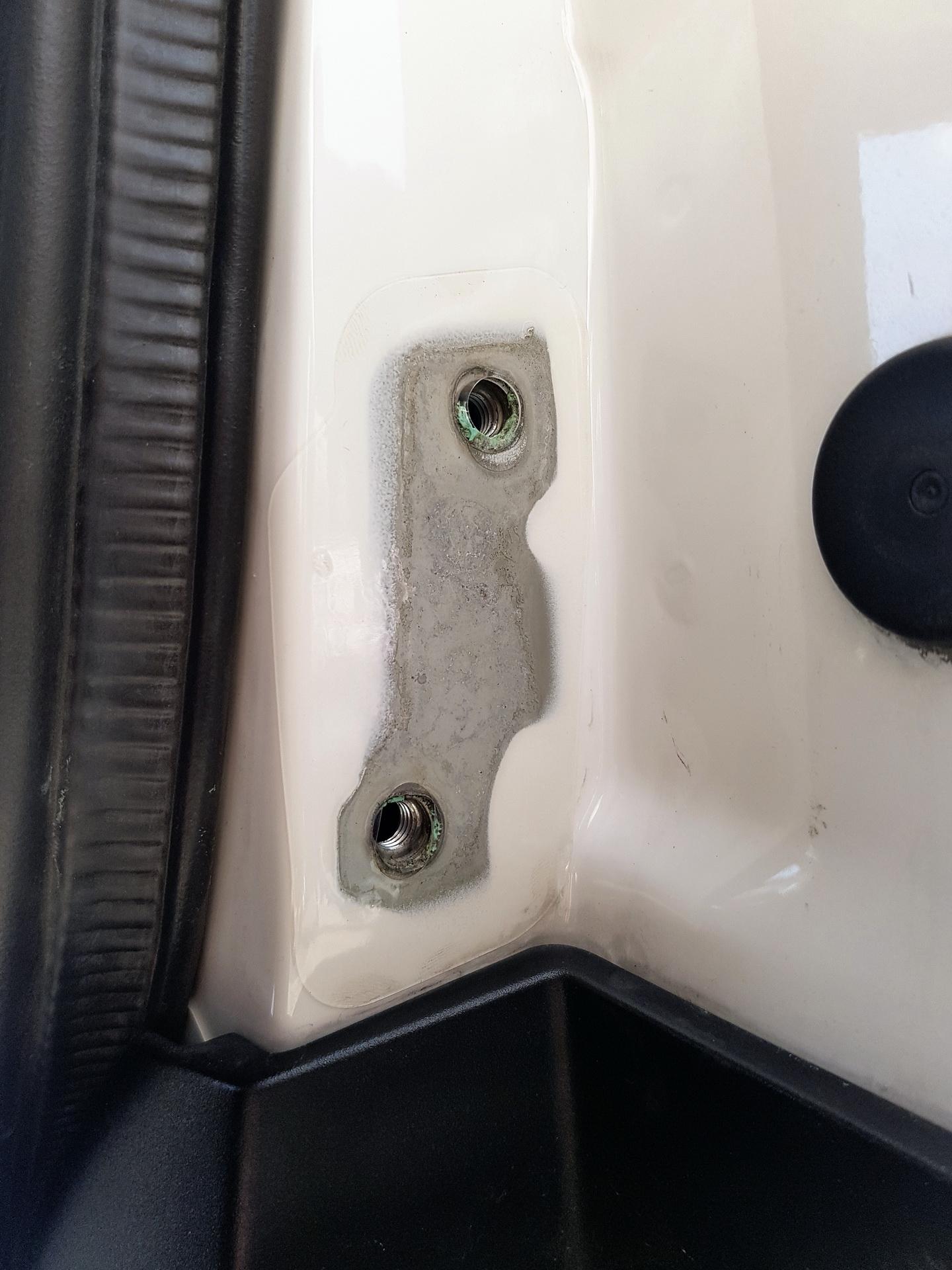 Terranger Gasdruckfedern Heckklappe Umbau Vw