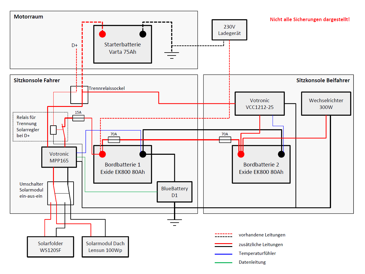 dmb - dual battery manager - VW California Elektrik - Caliboard.de